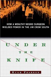Cover of: Under the Knife | Hugh Pearson