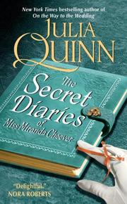Cover of: The Secret Diaries of Miss Miranda Cheever