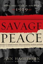 Cover of: Savage Peace | Ann Hagedorn