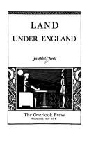 Cover of: Land under England
