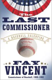 Cover of: The Last Commissioner