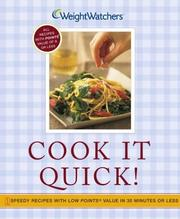 Weight-Watchers cook it quick!