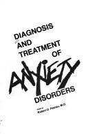 Cover of: Diagnosis/Treat Anxiety Disord | Pasnau