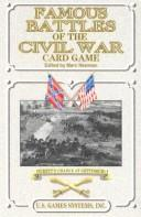 Cover of: Famous Battles of the Civil War