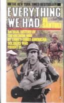 Cover of: Everything We Had | Al Santoli