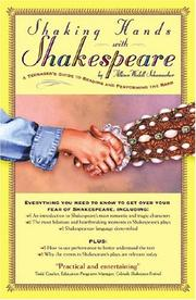 Cover of: Shaking Hands with Shakespeare
