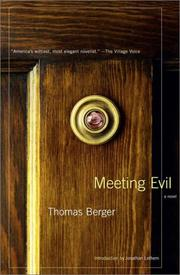 Cover of: Meeting Evil
