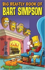 Cover of: Big Beastly Book of Bart Simpson (Simpsons)