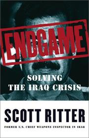 Endgame by Scott Ritter