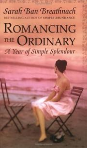Cover of: Romancing the Ordinary