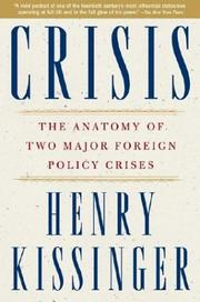 Cover of: Crisis