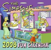 Cover of: The Simpsons 2008 Fun Calendar (Simpsons (Harper))