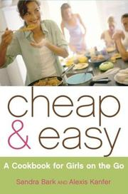 Cover of: Cheap & easy