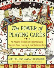 Cover of: power of playing cards | Geraldine Sullivan