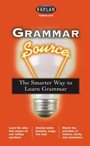 Cover of: Grammar Source | Kaplan Publishing