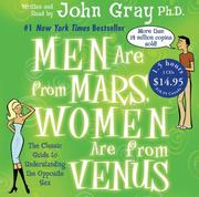 Cover of: Men are From Mars, Women are From Venus Low Price CD