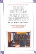 Cover of: Black American Poets and Dramatists of the Harlem Renaissance (Writers of English)