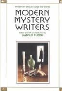 Cover of: Modern Mystery Writers (Writers of English) | Harold Bloom