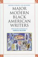 Cover of: Major Modern Black American Writers (Writers of English)