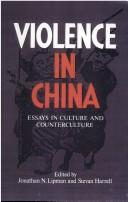 Cover of: Violence in China | Jonathan N. Lipman