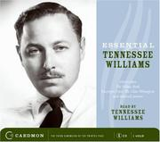 Cover of: Essential Tennessee Williams CD