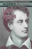 Cover of: Lord Byron
