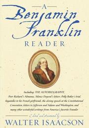 Cover of: A Benjamin Franklin reader