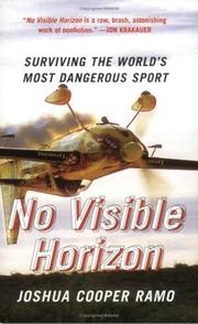 Cover of: No Visible Horizon: Surviving the World's Most Dangerous Sport