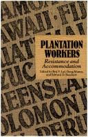 Cover of: Plantation workers