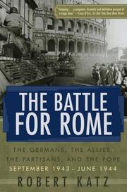 Cover of: The Battle for Rome