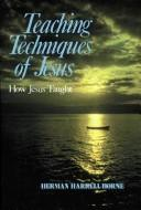Cover of: Teaching Techniques of Jesus