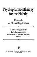 Cover of: Psychopharmacotherapy for the elderly |