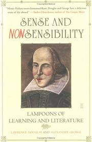 Cover of: Sense and nonsensibility | Lawrence Douglas