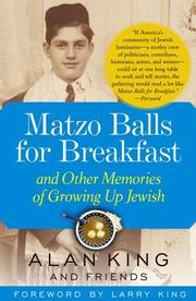 Cover of: Matzo Balls for Breakfast