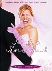 Cover of: Mama Gena's Marriage Manual
