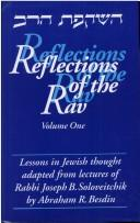 Cover of: Reflections of the Rav | Abraham R. Besdin
