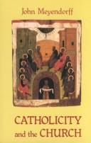 Cover of: Catholicity and the church