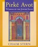 Cover of: Pirke Avot | Chaim Stern