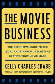 Cover of: The Movie Business | Kelly Crabb
