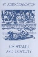 On wealth and poverty by John Chrysostom Saint