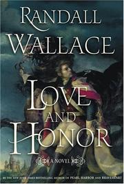 Cover of: Love and honor