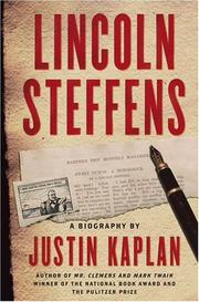 Cover of: Lincoln Steffens