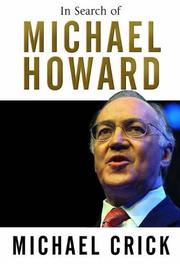 Cover of: In search of Michael Howard