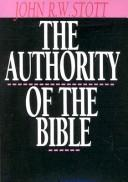 Cover of: The Authority of the Bible