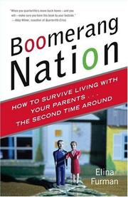 Cover of: Boomerang Nation: How to Survive Living with Your Parents...the Second Time Around