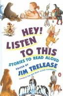 Cover of: Hey! Listen to This | Jim Trelease