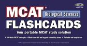 Cover of: MCAT Biological Sciences Flashcards | Kaplan Publishing