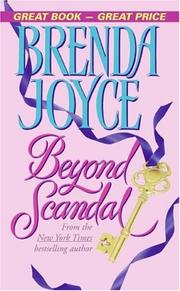 Cover of: Beyond Scandal