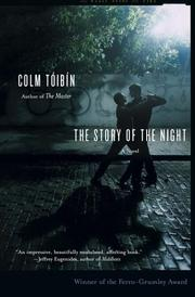 Cover of: story of the night | Colm TГіibГ­n