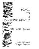 Cover of: Songs to a handsome woman